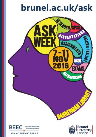 ASK Week Poster 2016