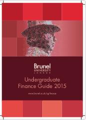 Undergraduate finance guide 2015