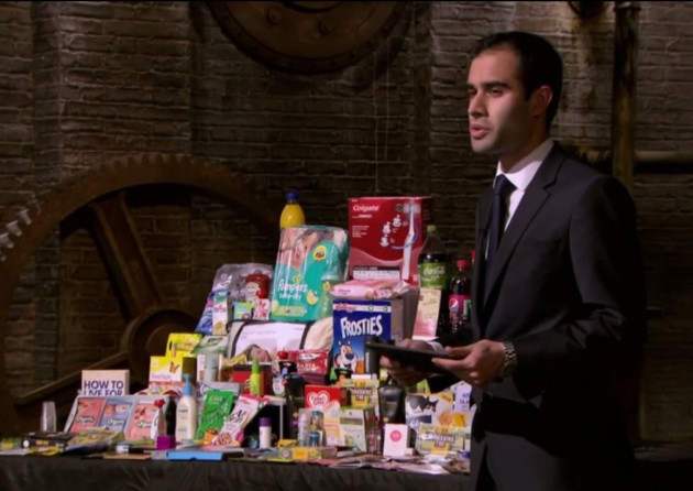 News-Deepak on Dragons Den
