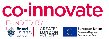 Co-Innovate funded by gla logo