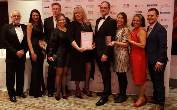 image of Co-Innovate receives Highly Commended Award at the West London Business Awards 2020