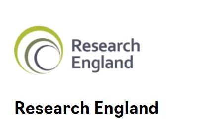 Research England Logo HOME