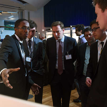civil engineering alumni at brunel engineers show