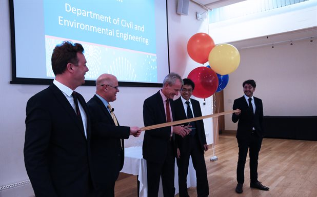 image of 10th Anniversary of Civil Engineering and the launch of our new Department of Civil and Environmental Engineering