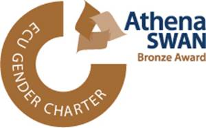 Image of athena swan bronze award logo