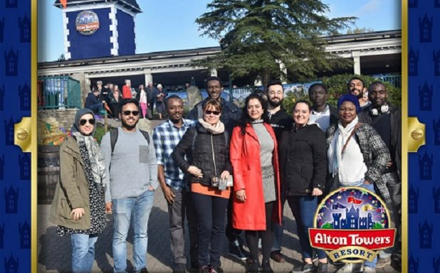 image of Brunel Computer Science PhD students take a road trip to Alton Towers
