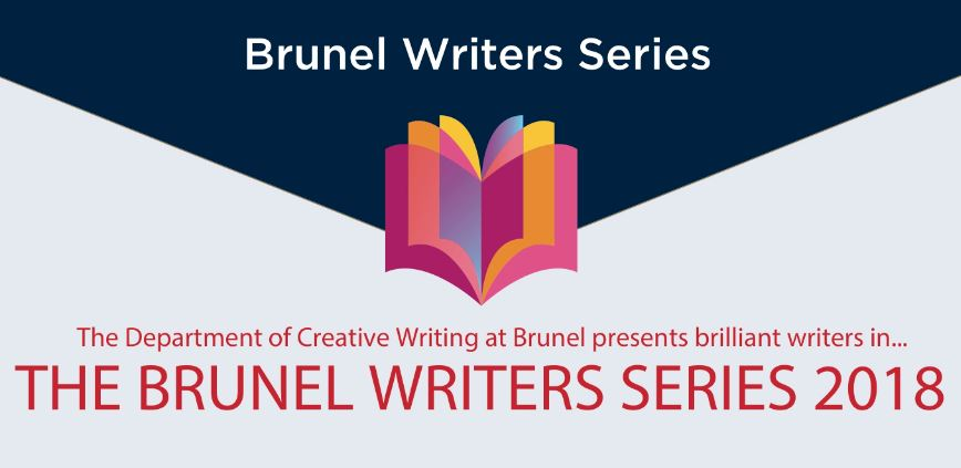 Brunel Writers Series 2018 event banner