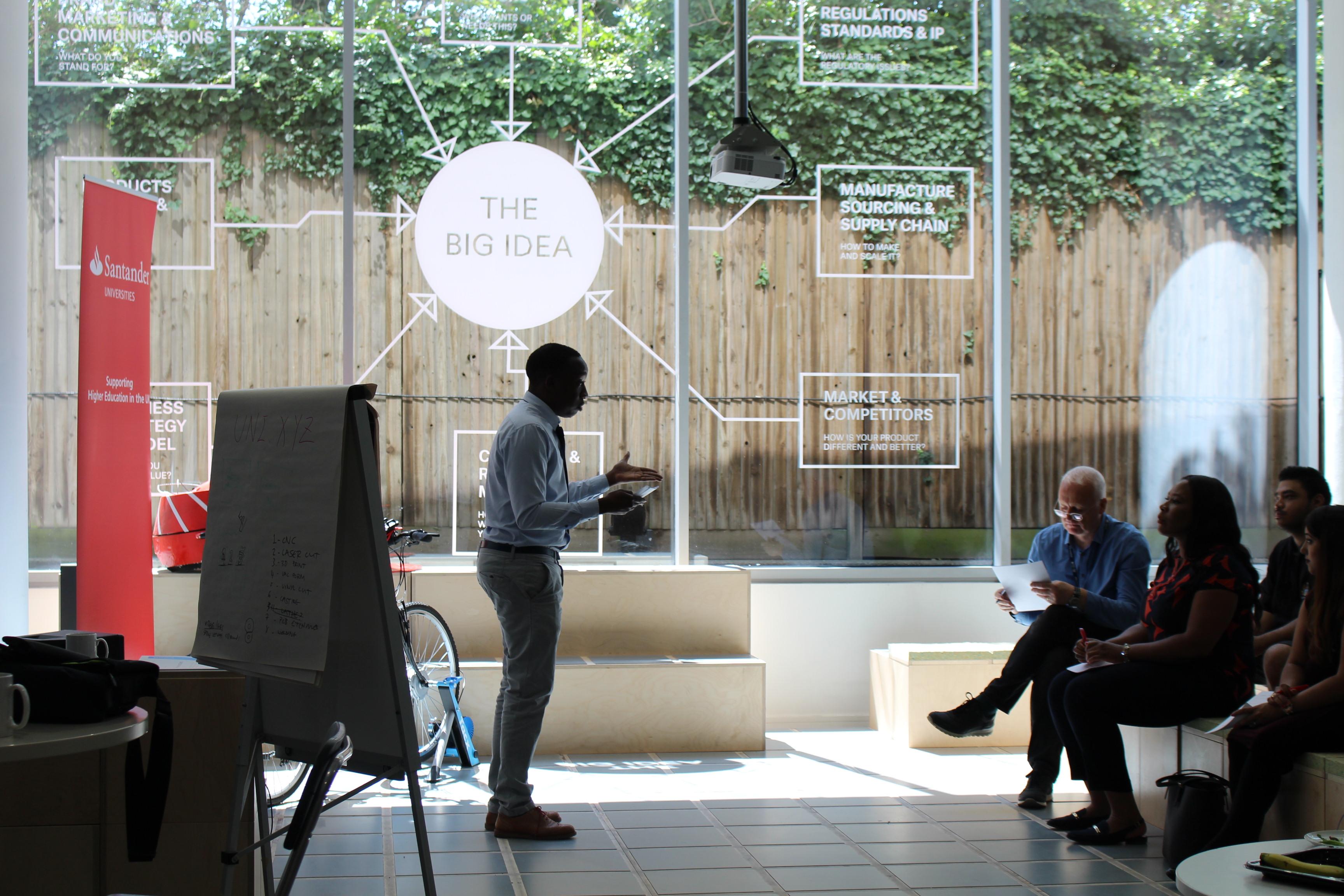 Santander Awards Brunel Entrepreneurs 1000 For Innovative Start Up