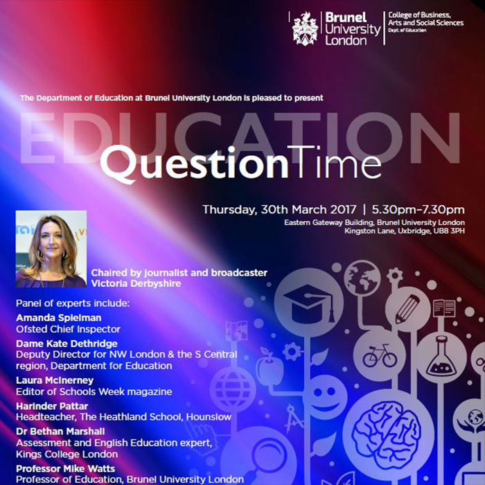 Education question time web