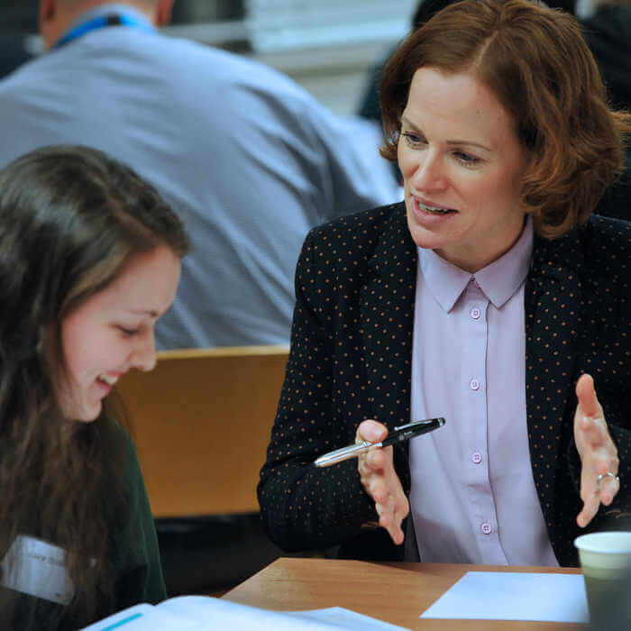 Global Challenges academic explains more regarding the course specifications during an Open day