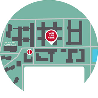 Fleming Hall Map