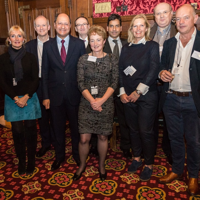 Brunel Law School alumni with Shailesh Vara MP at the House of Commons event
