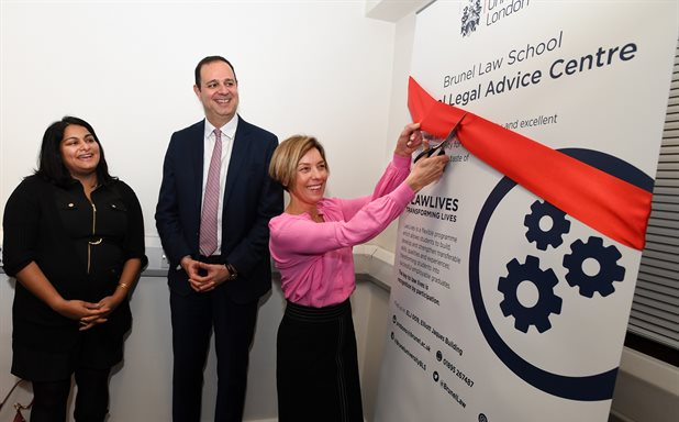 image of Official Opening of the Brunel Pro Bono Legal Advice Centre – serving the local community