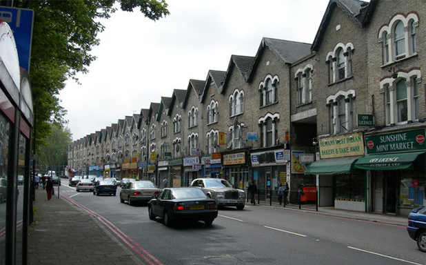 Seven Sisters road