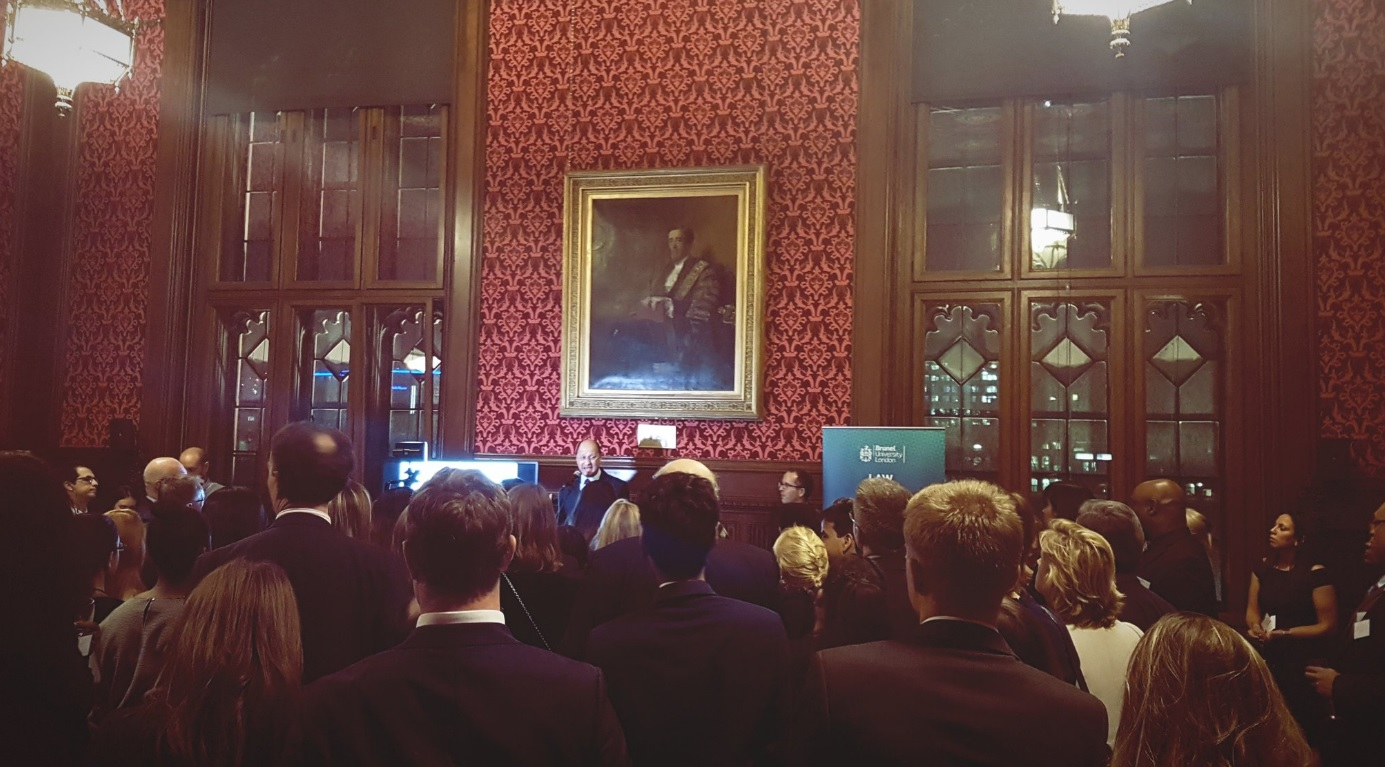 Shailesh Vara MP hosting Brunel Law School at the House of Commons
