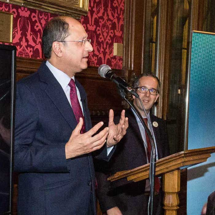 Shailesh Vara talks about his experiences at Brunel Law School