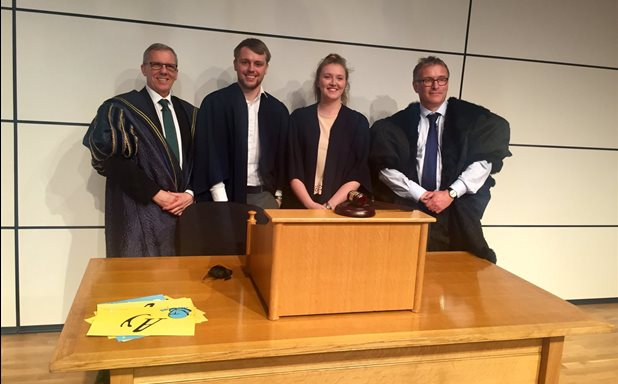 image of Law students judge academics during 'Do Shakespeare's plays still matter?' debate