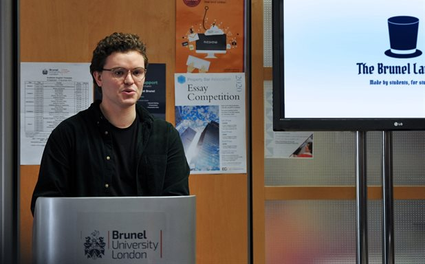 image of Launch of the Brunel Lawyer newspaper – created by students for students