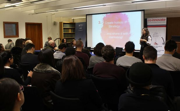 image of Maximising Innovation with Intellectual Property Event - launching the Brunel Law School IP Pro Bono Service in collaboration with Co-Innovate