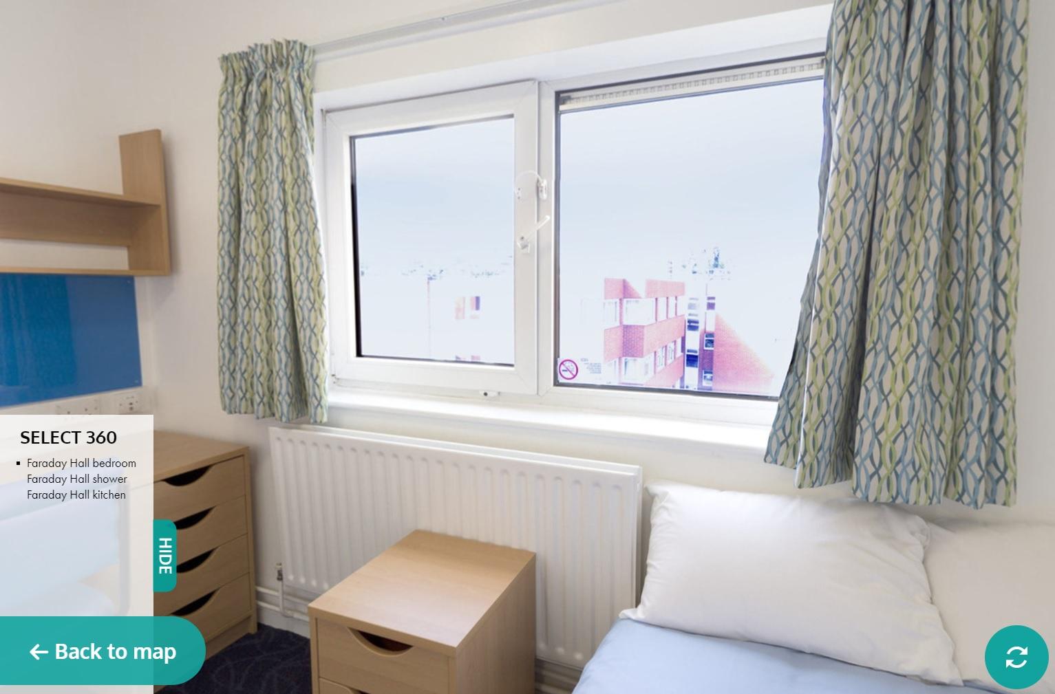 Faraday hall brunel university london for Hall window design