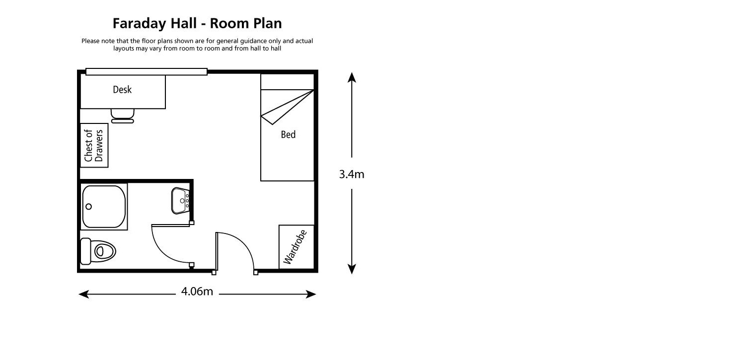 faraday bedroom plan