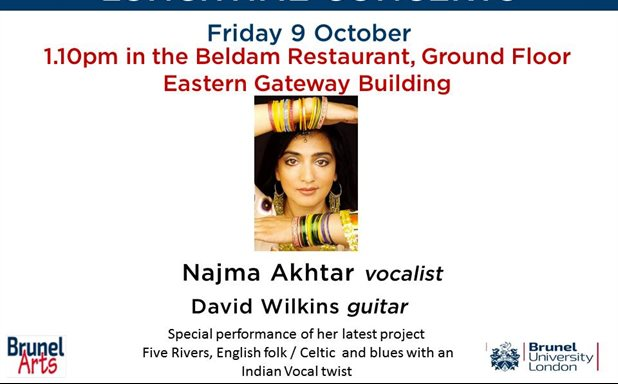 image of Najma Akhtar, vocalist & David Wilkins, guitar