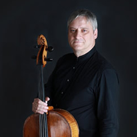 image of Michal Kaznowksi, cello