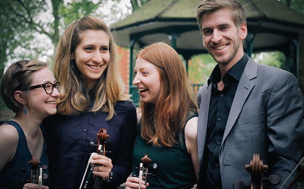 image of Consone Quartet: The Walter Elkan Memorial Concert; Agata Daraskaite, Magdalena Loth-Hill (violins), Elitsa Bogdanova (viola), George Ross (cello)