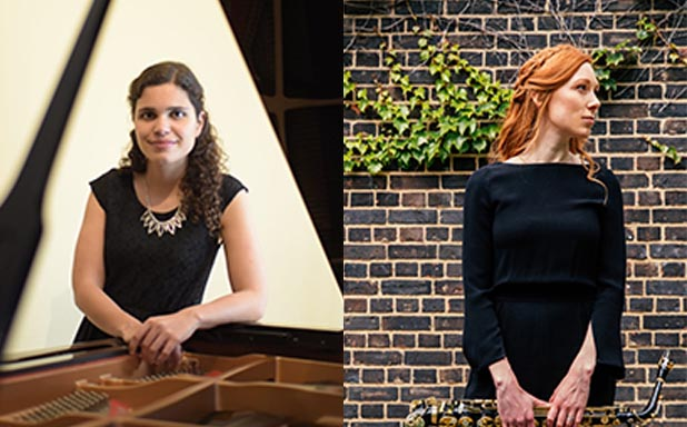 image of Brunel Friday lunchtime concerts; Amy Green (Saxophone), Vera Fonte (Piano)