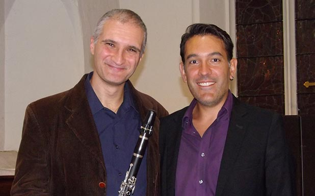 image of Brunel Friday lunchtime concert; Luca Luciano (flute), Bruno D'Ambra (piano)