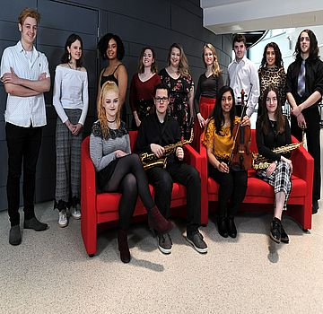 Brunel Arts Music Award students