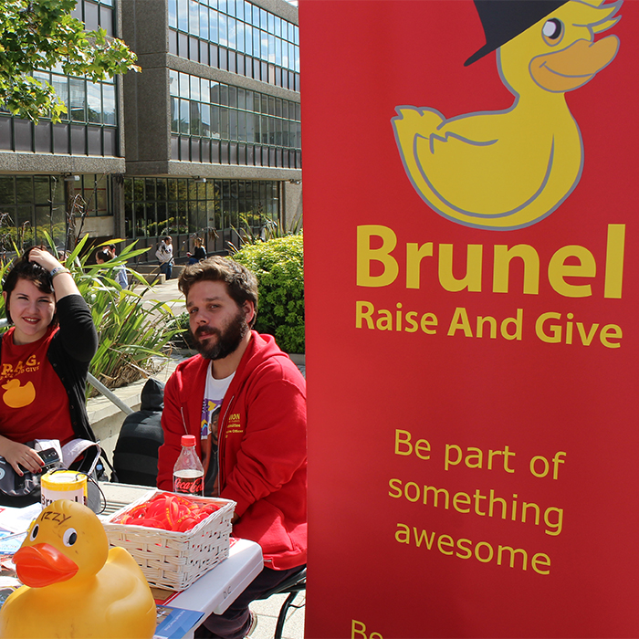 RAG and Volunteering at Brunel University