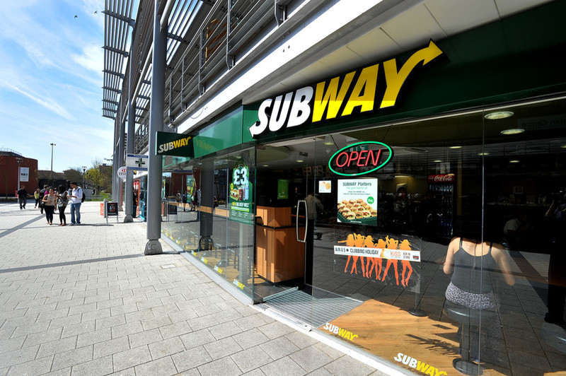 Subway at Brunel