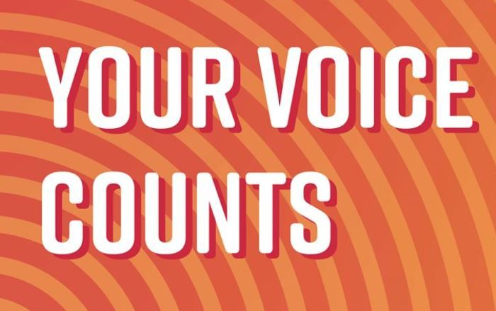 Your voice counts image