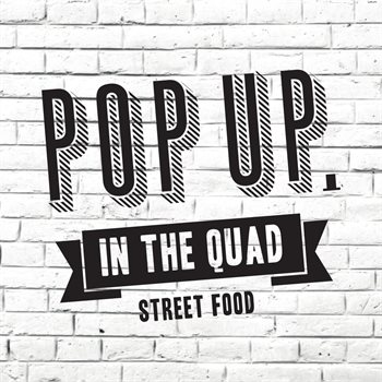 Pop Up In The Quad Logo