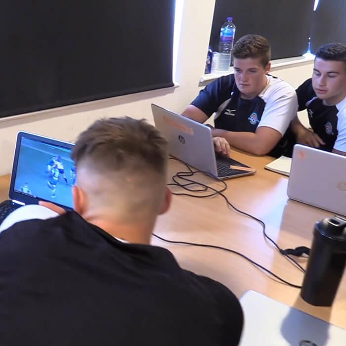 Players are encouraged to review their games in the analysis suite