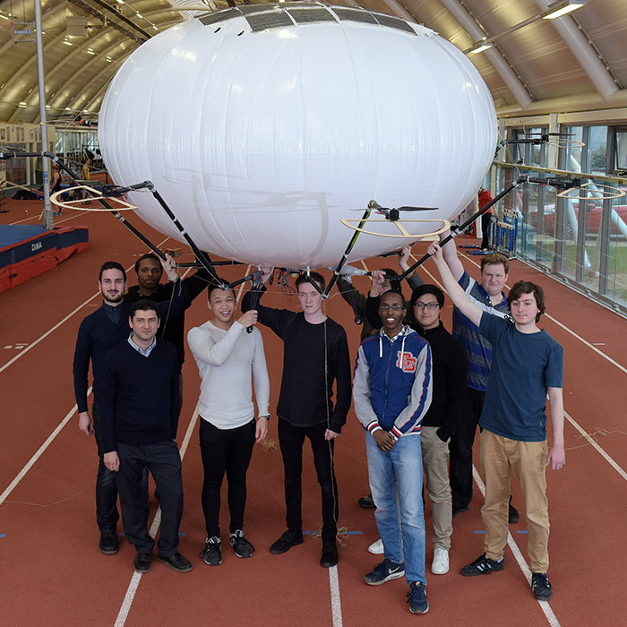 Mechanical Engineering Airship Project