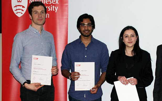 image of Year 2 students retain the IMechE Year 2 GLR Design Challenge trophy