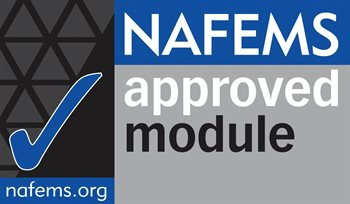 NAFEMS Approved module logo