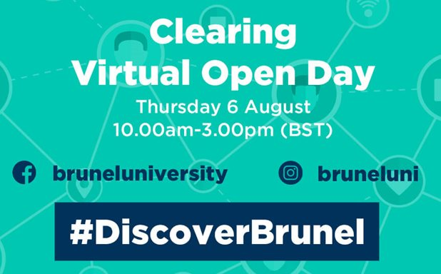 image of Clearing Virtual Open Day