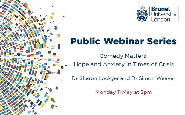 image of Public Webinar Series: Comedy Matters - Hope and Anxiety in Times of Crisis