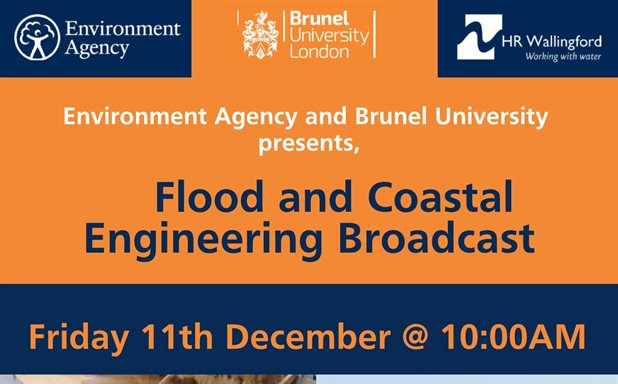 image of Flood and Costal Engineering interactive live event with Environment Agency and Brunel University