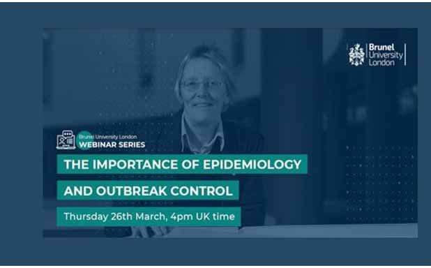 image of Webinar: Importance of Epidemiology and Outbreak Control