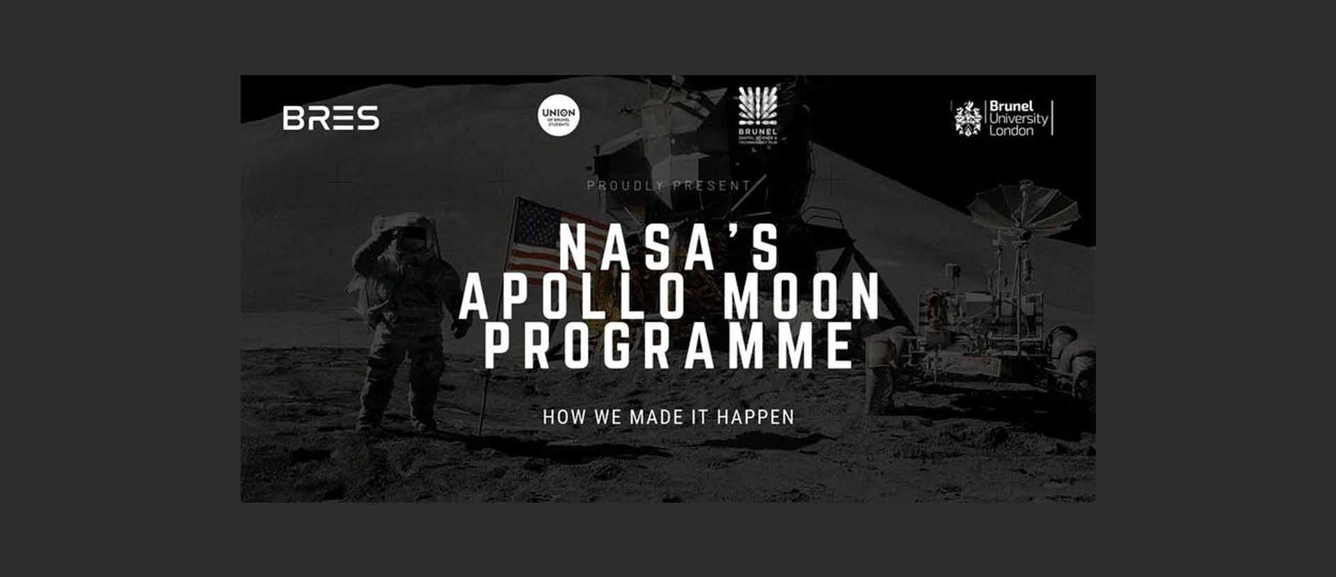 image of Nasa's Apollo Moon Programme: How we made it happen - Dr. David Baker