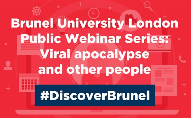 image of Public Webinar Series: Viral Apocalypse and Other People