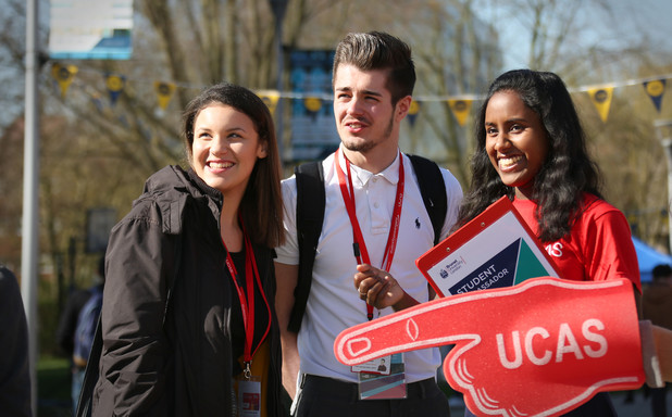image of West London UCAS Higher Education Exhibition.