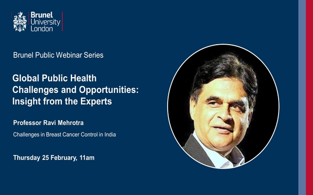 image of Webinar: Global Public Health Challenges and Opportunities: Insight from the Experts - Session 2