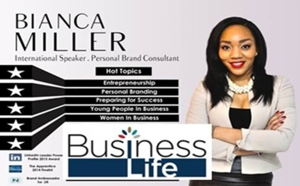 image of Business Life: Bianca Cole Miller workshops: Personal Branding and confidence