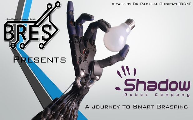 image of BRES presents the Shadow Robot Company 'A journey to Smart Grasping'
