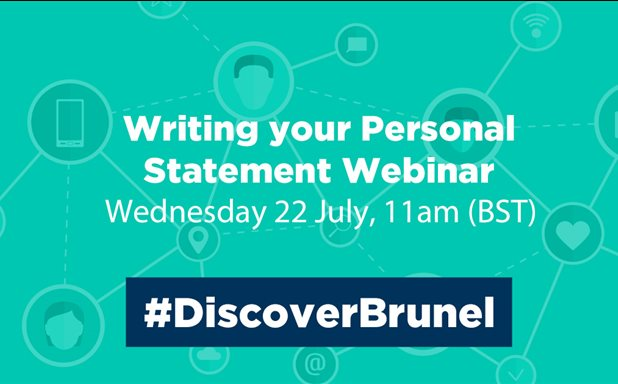 image of Writing your personal statement webinar